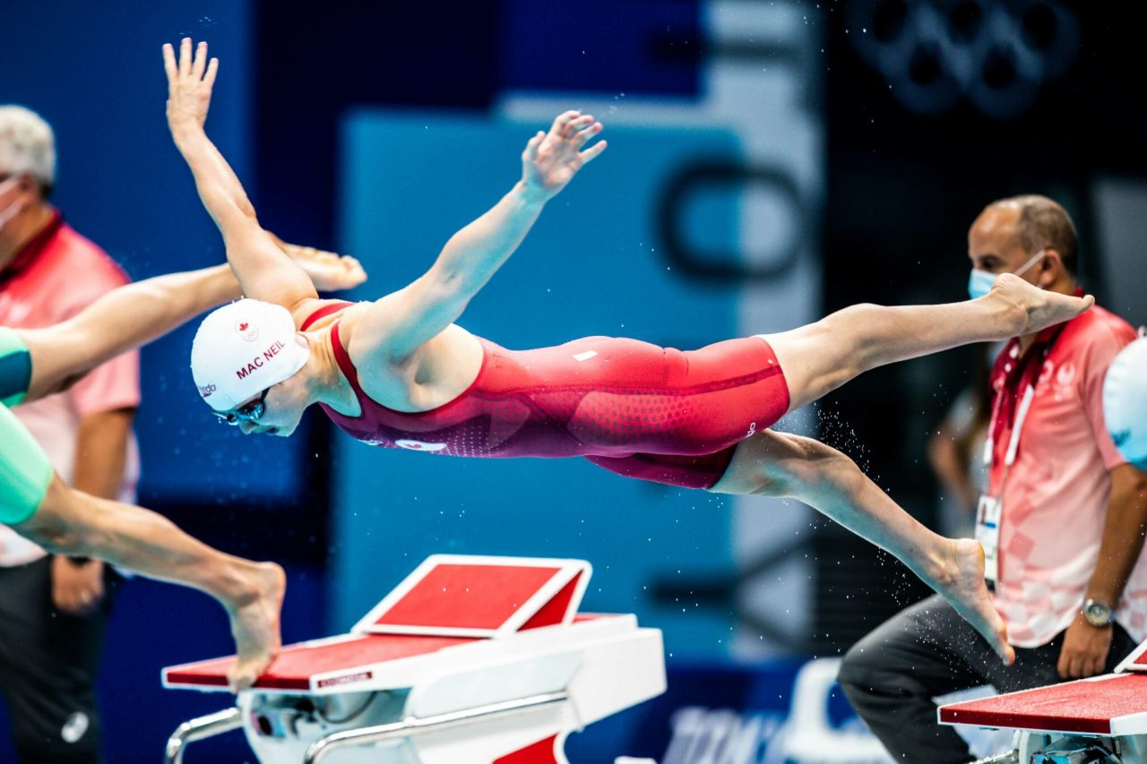 Canadian Swimmer Brings Attention
